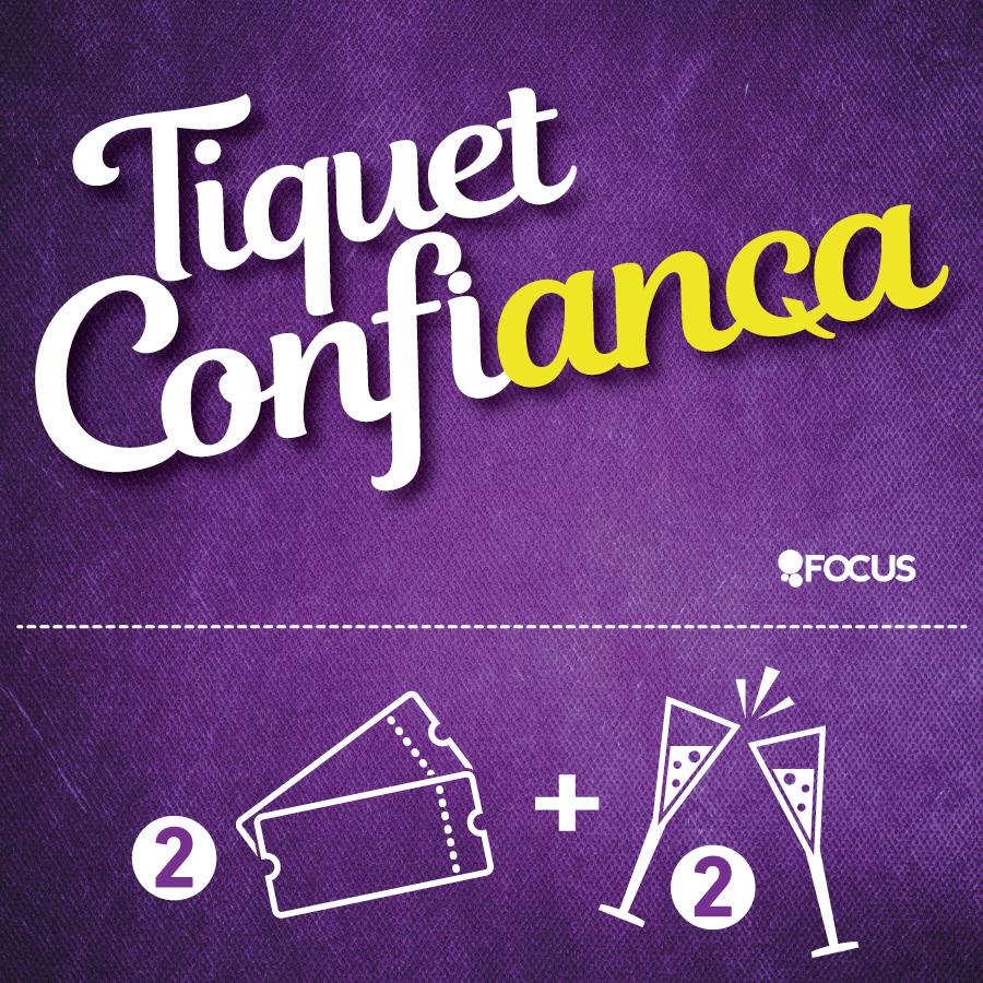 Tiquet Confiança del Teatre de La Villarroel de Barcelona
